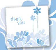 Free Thank You Cards from Dove Dimensions – First 20,000