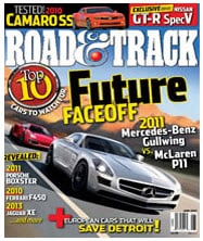 Free One Year Subscription to Road &Track Magazine