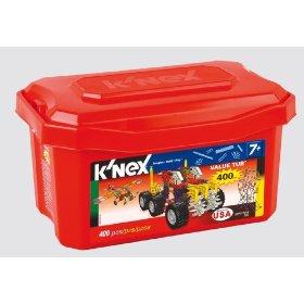 Amazon – 400 Piece K'Nex Set & Tub $9.00 Each AR wyb 2<br />Plus Struxx Robotrixx Set 71% off – $19.99