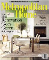 Free One Year Subscription to Metropolitan Home Magazine