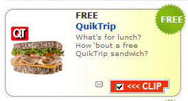 Free Sandwich, Salad, or Wrap from QuikTrip