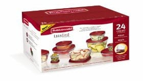 Amazon – 24 Piece Rubbermaid Set Only $10.47