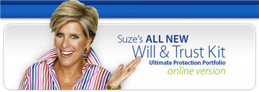 Free Suze Orman Will and Trust Ultimate Protection Portfolio 9/27 – 10/3
