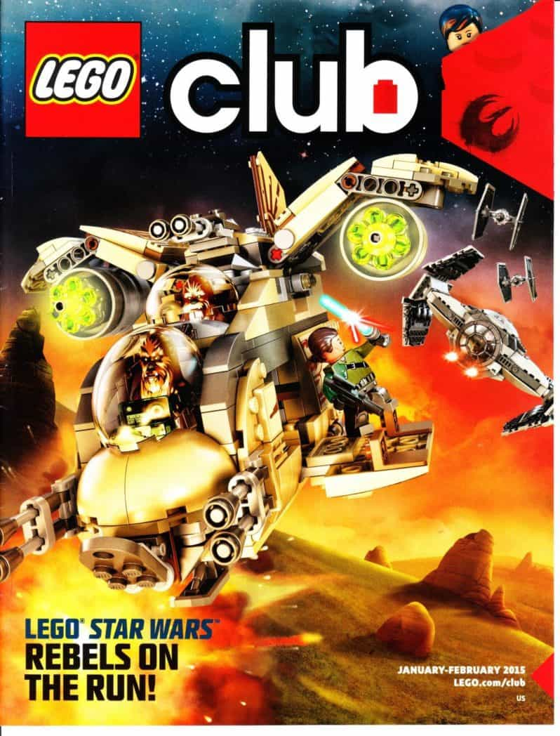 Free Two Year Subscription to Lego Magazine
