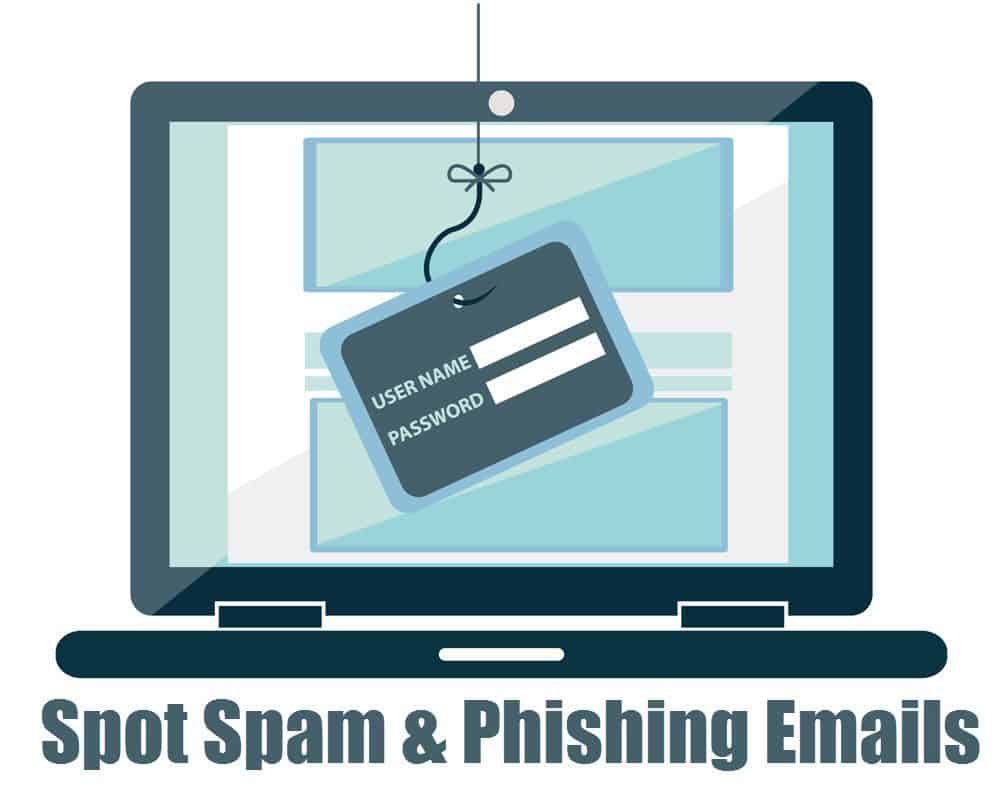 Ways to Spot Spam & Phishing Emails