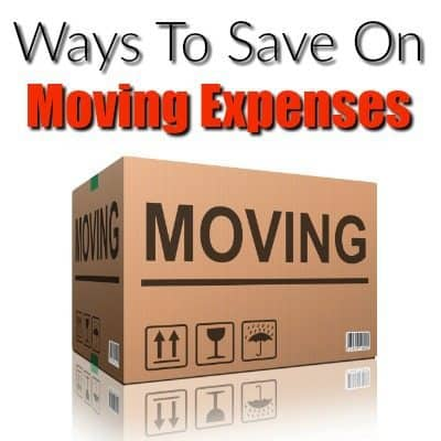 Ways to Save on Moving Expenses