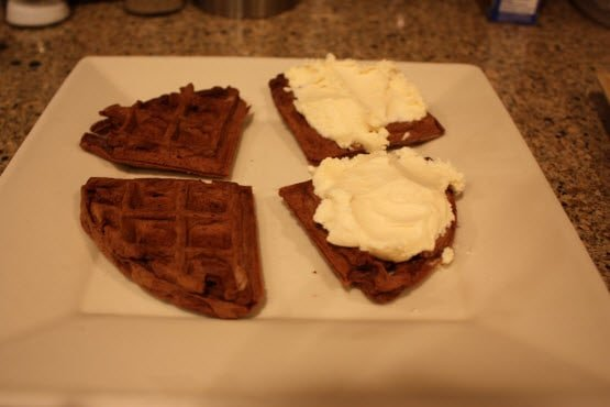 Waffle Iron Challenge: Attempt 4 Ice Cream Sandwich