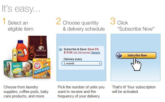 How to Use Amazon Subscribe & Save