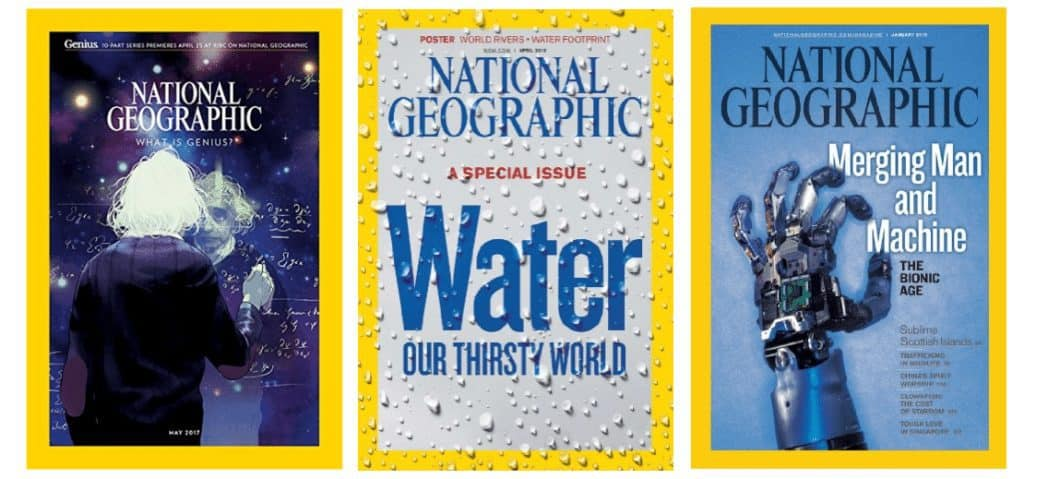 One Year of National Geographic Only $19