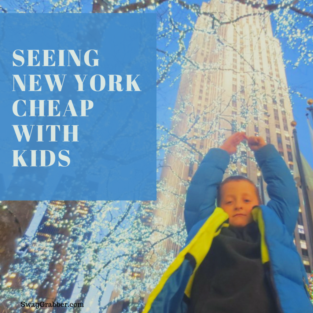 Seeing New York CHEAP w/ Kids
