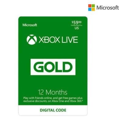 12 Month XBox Live Gold Membership .99 at Newegg