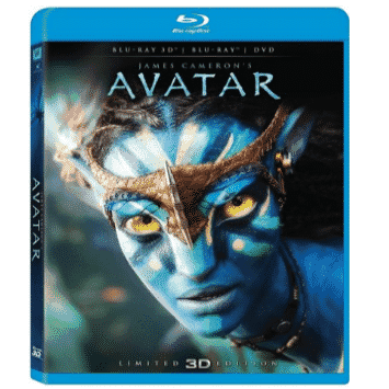 Avatar Blu-ray 3D + Blu-ray/ DVD Combo Pack Only $14.99 (Was $39.99)