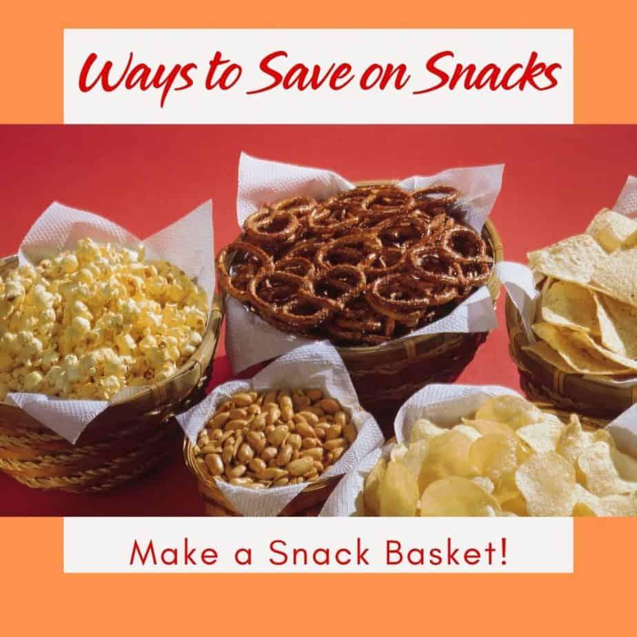 Ways to Save on Snacks