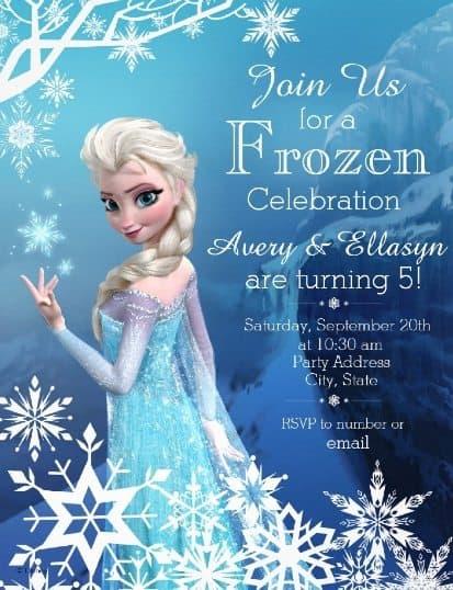Fun & Fabulous Frozen Party Ideas