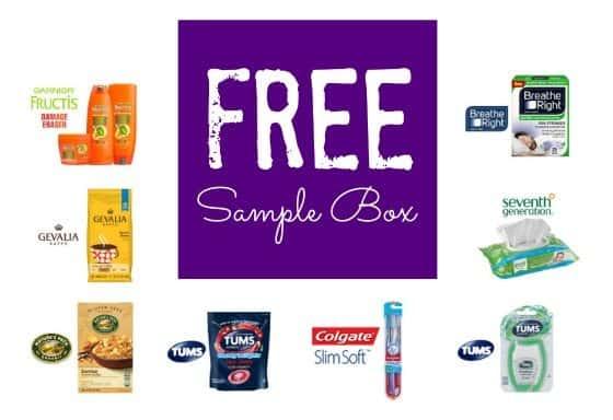 FREE Sample Box + Free Shipping **Nature's Path, Truvia, Garnier Fructis, Breathe Right and Bona**