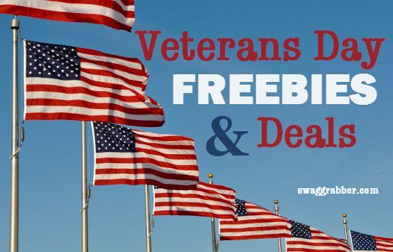 Huge List of Veteran's Day Freebies & Deals
