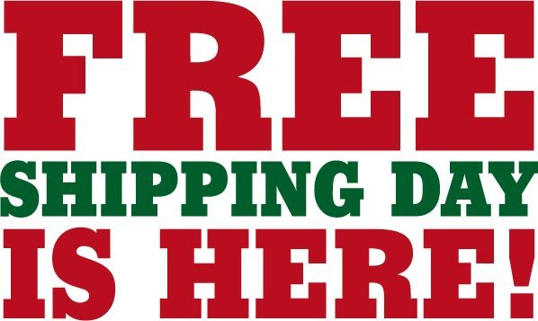 Free shipping day is tomorrow friday december 16th for 6 dollar shirts coupon code free shipping