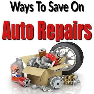 Ways to Save on Auto Repairs