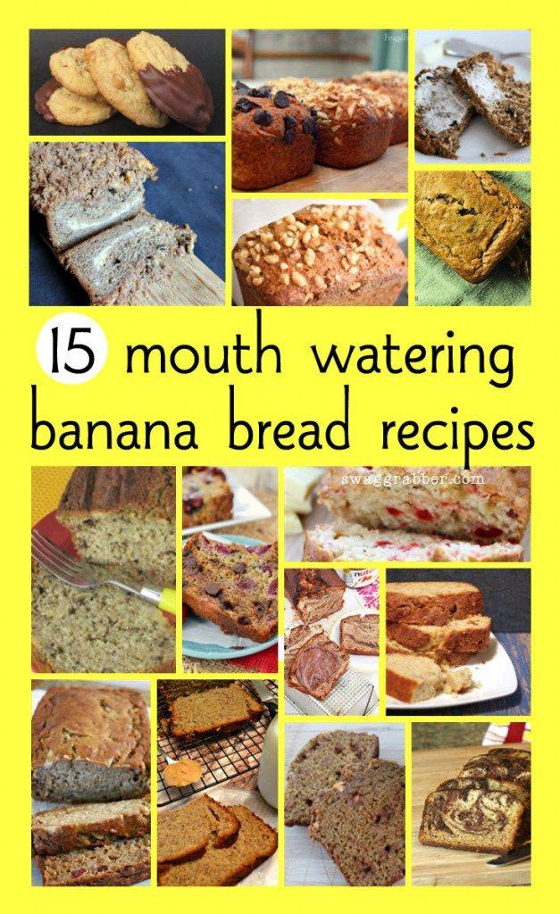 National Banana Bread Day + 15 Mouth Watering Banana Bread Recipes!