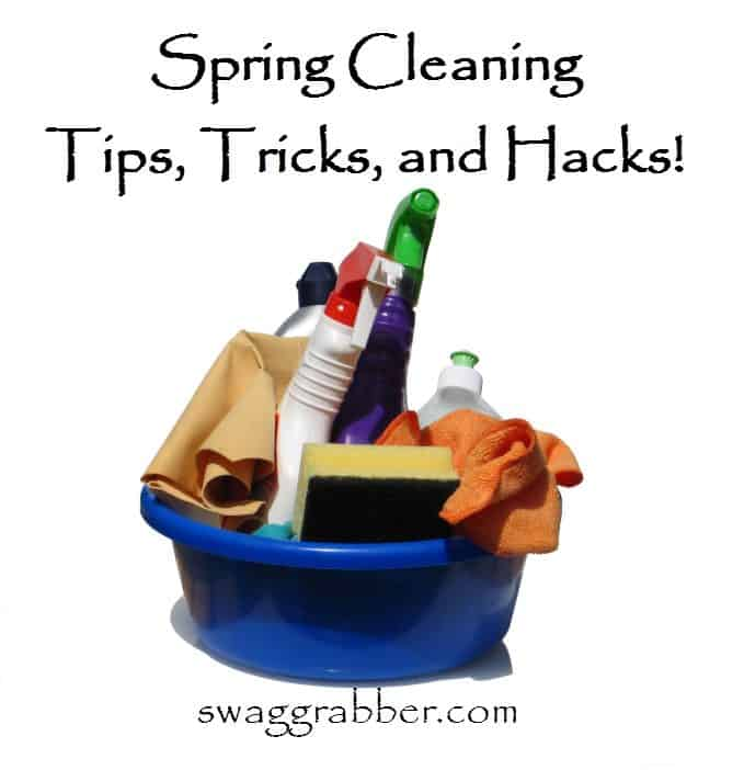 Spring Cleaning Tips, Tricks, and Hacks!