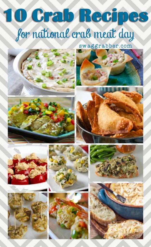 10 Crab Recipes for National Crab Meat Day