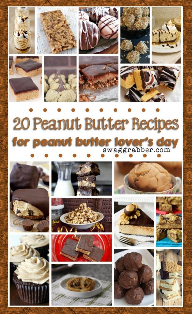 20 Peanut Butter Recipes for Peanut Butter Lover's Day