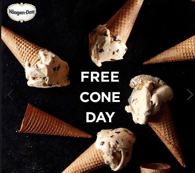 Haagen-Dazs: Free Ice Cream on May 9th