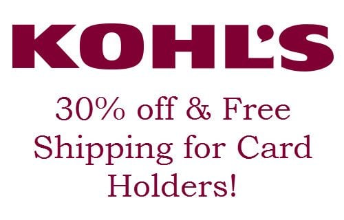 Kohls free shipping coupon code