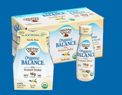 FREE Organic Valley Milk Protein Shake - First 1,000