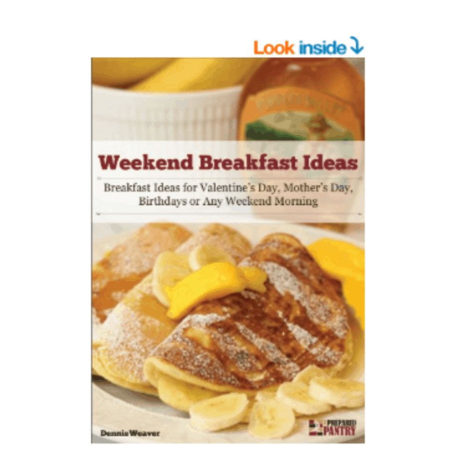 FREE Weekend Breakfast Ideas (Kindle Edition) **Ideas for Father's Day Morning**