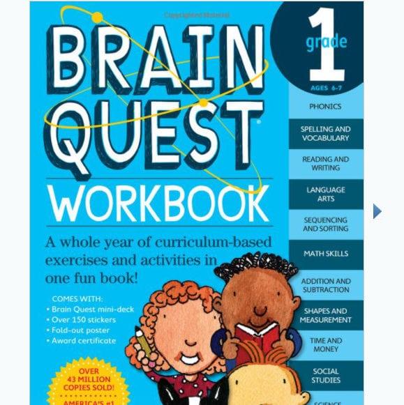 50% Off Brain Quest Kids Educational Workbooks