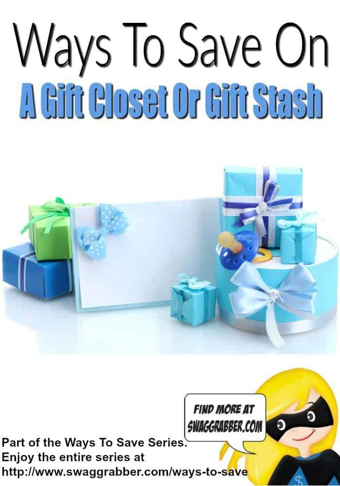 Ways To Save On A Gift Closet Or Gift Stash
