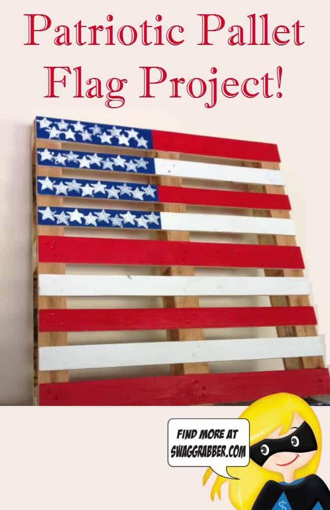 FREE Patriotic Pallet Flag Project