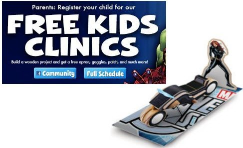 Lowe's Build & Grow - Build a Black Widow's Sky Cycle from Avenger's for FREE on 7/11 @ 10am