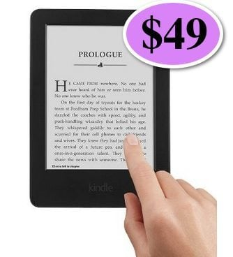 Kindle Touch Screen E-Reader $49 Shipped (Was $79) **Ending Soon**