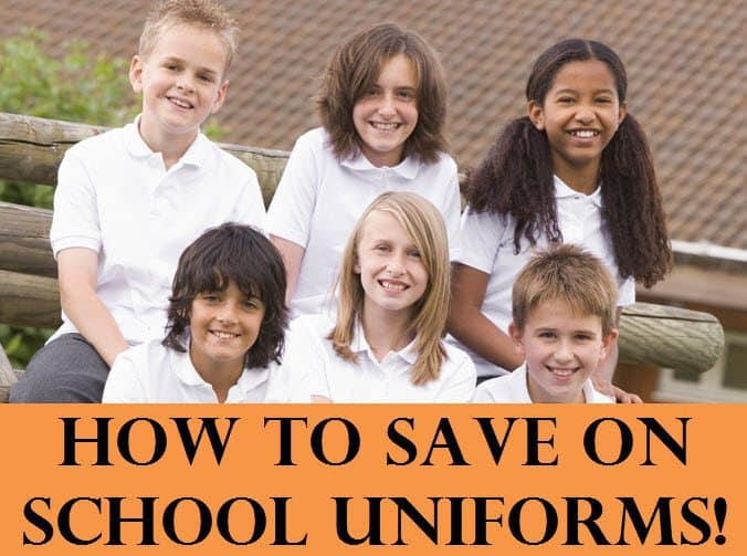 how to save on uniforms small