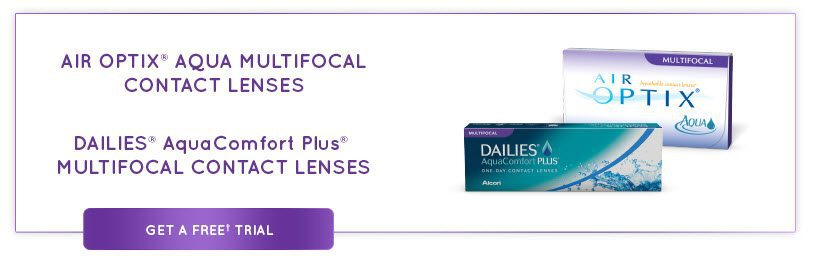 FREE 30 Day Trial of Air Optix & Alcon Multifocal Contacts