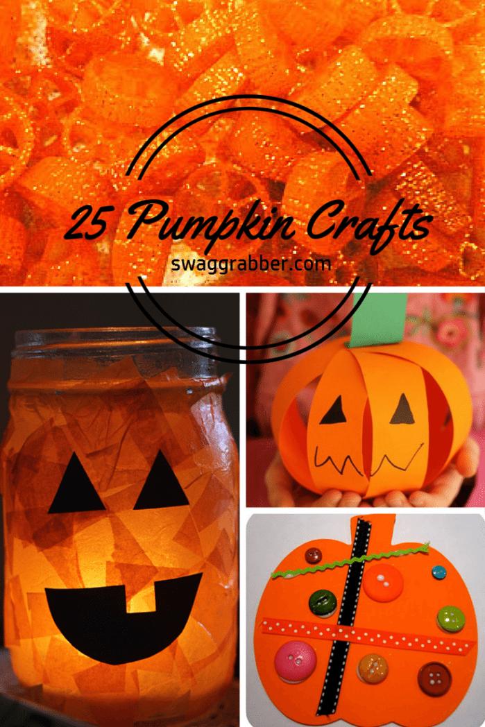 25 Fun Pumpkin Crafts