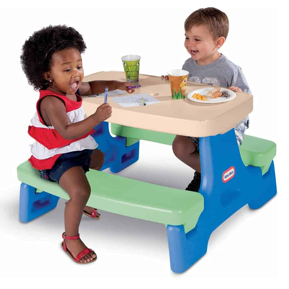 Little Tikes Easy Store Jr. Play Table Now .99