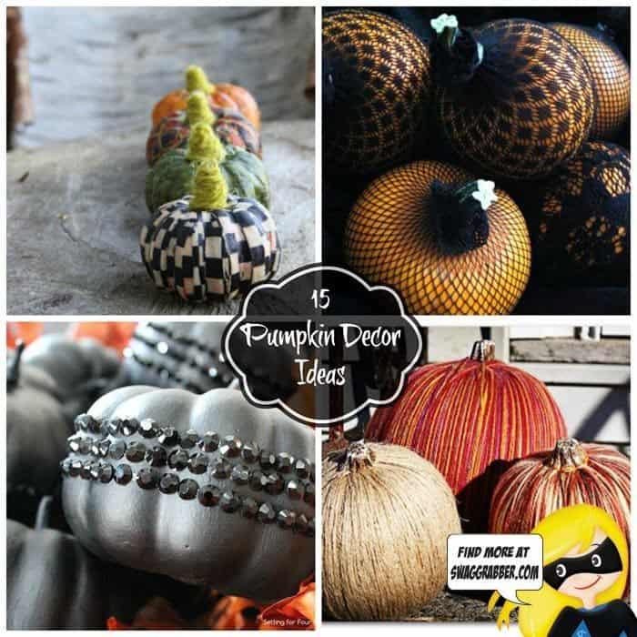 15 Fun and Unique Pumpkin Decor Ideas