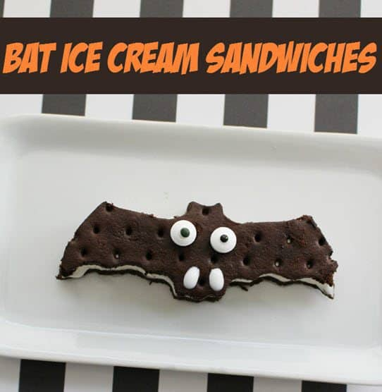 bat ice cream sandwiches