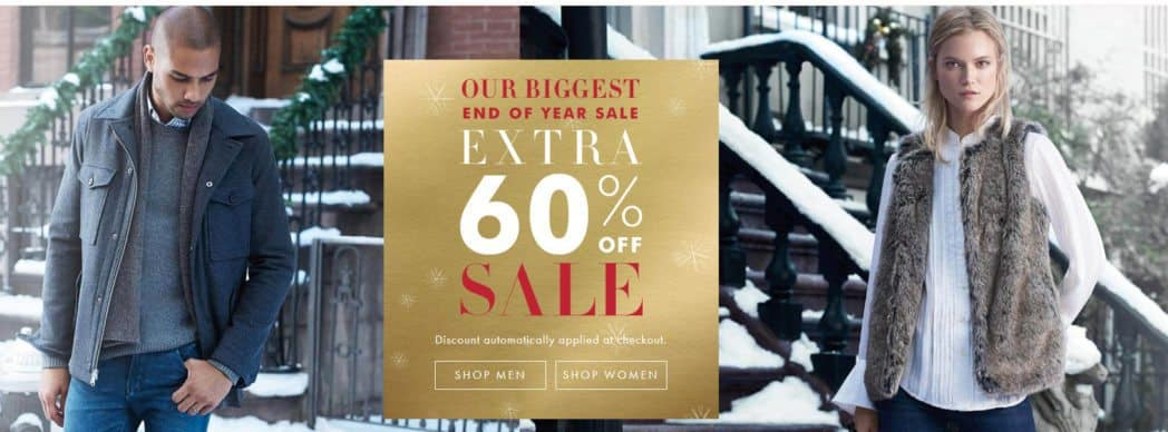Additional 60% off Sale Styles at Banana Republic *RARE*