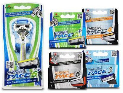 Dorco Pace Trial Packs $17.50 Shipped - Includes 1 Razor Handle & 18 Cartridges!