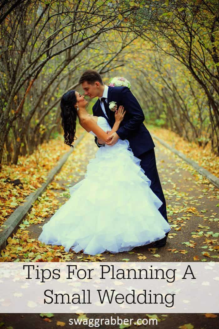 tips for planning a small wedding swaggrabber