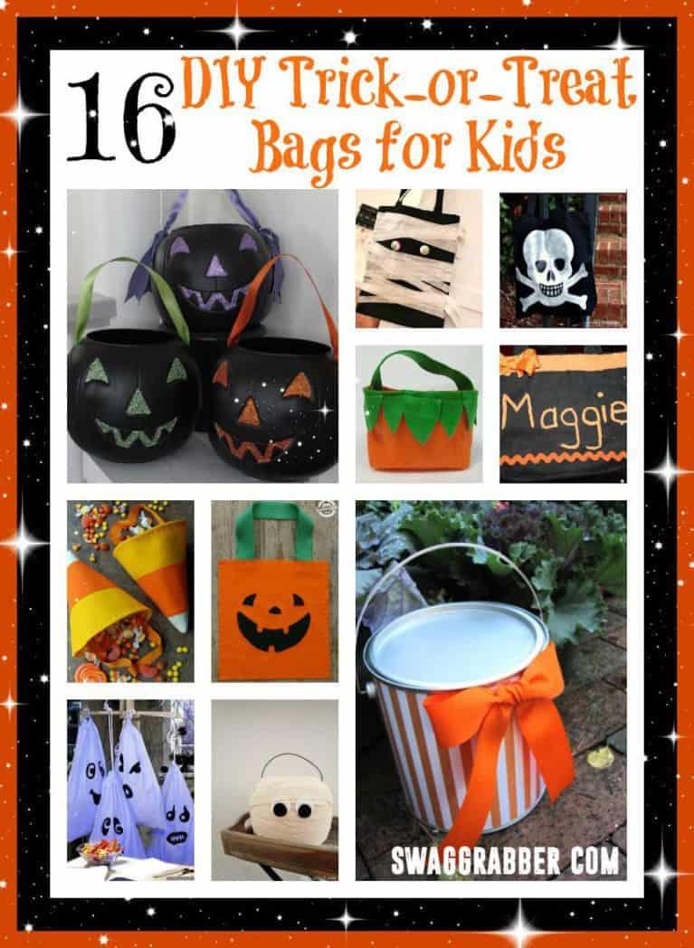 16 Diy Trick or Treat Bags for Kids