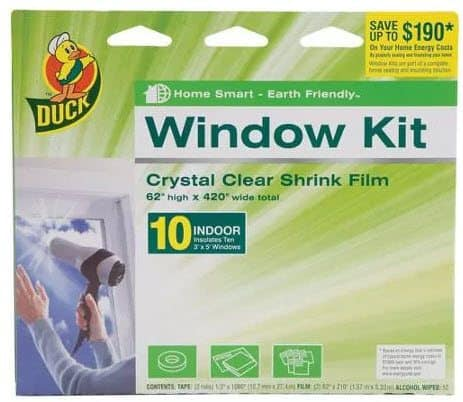 Save Money on Heating Costs - Insulate Ten Window for only $7.47