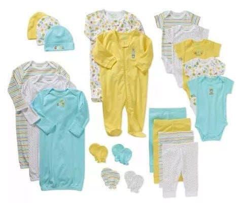 Garanimals Newborn Baby Unisex Perfect Shower Gift 21 Piece Set