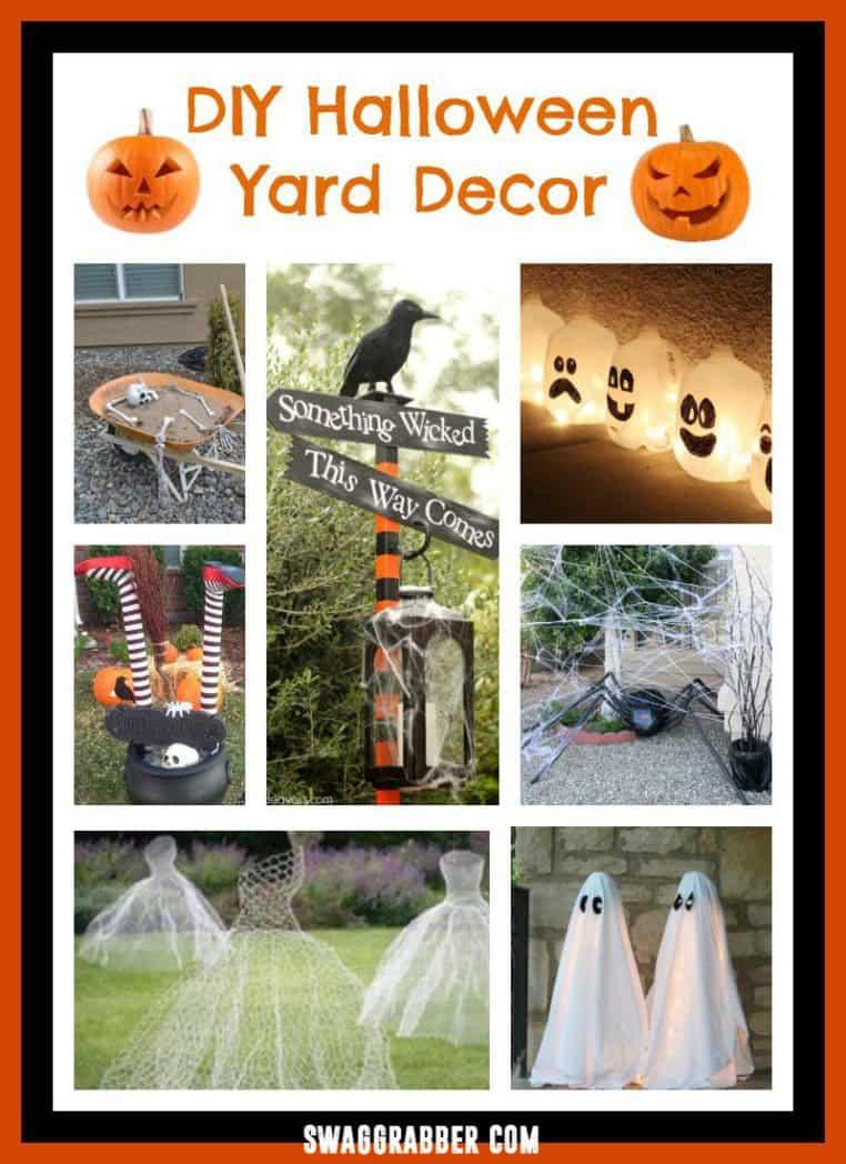 DIY Halloween Yard Decor Ideas