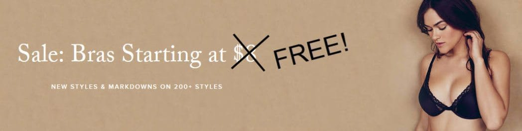 True & Co: FREE $15 Credit = FREE Bra **HOT**