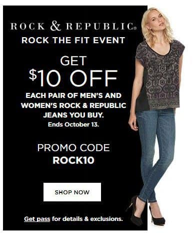 Kohl's: $15 off ANY Rock & Republic Jeans **HOT** Possible FREE Jeans!!